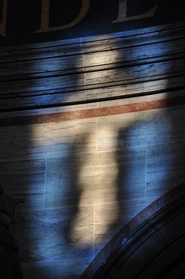 De vorm van licht royalty-vrije stock afbeeldingen