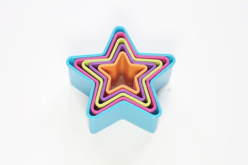 De vormen van de ster vector illustratie