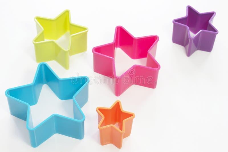 De vormen van de ster stock fotografie