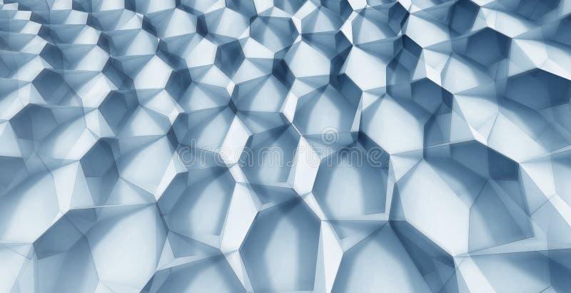 De Vorming van het kristal vector illustratie