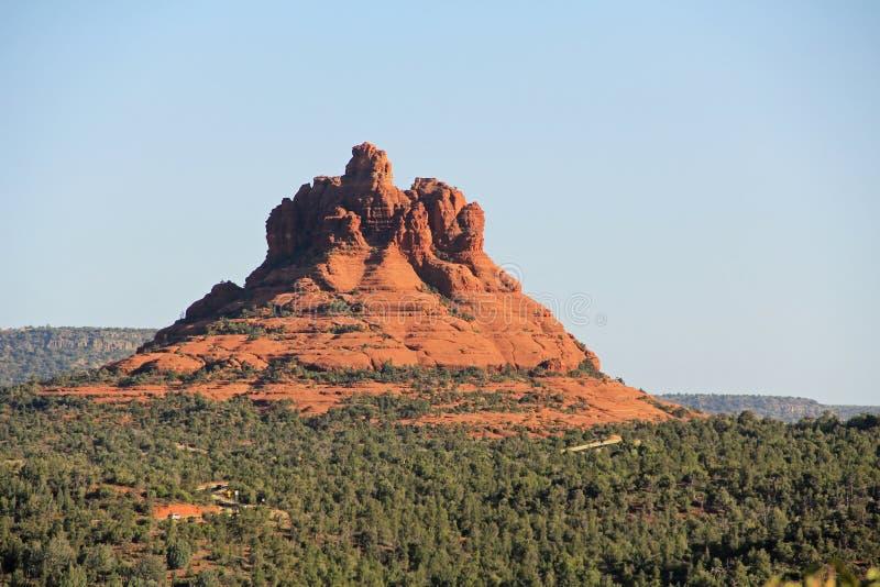 De Vorming van de klokrots in Sedona Arizona stock foto's