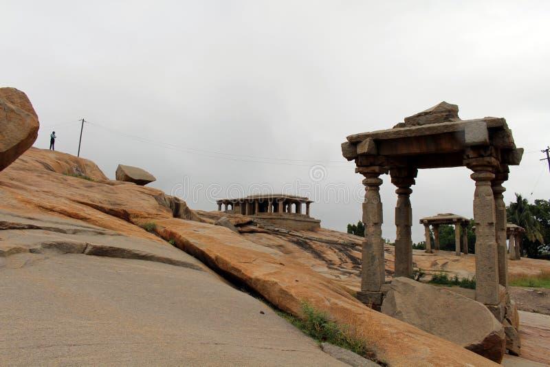 De vorming van pijlers, ruïnes, rotsen, en Groepsmonumenten van T royalty-vrije stock foto