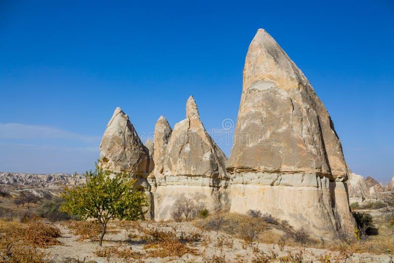 De vormingen van de Cappadokiarots royalty-vrije stock afbeeldingen