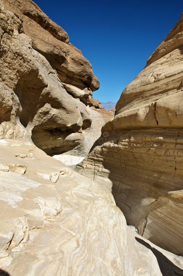 De vormingen van de rots bij doodsvallei, ca, de V.S. royalty-vrije stock foto