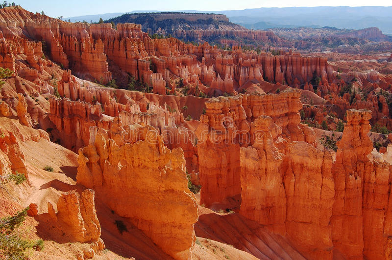 De vormingen van de rots, het Nationale Park van de Canion Bryce, Utah royalty-vrije stock foto's