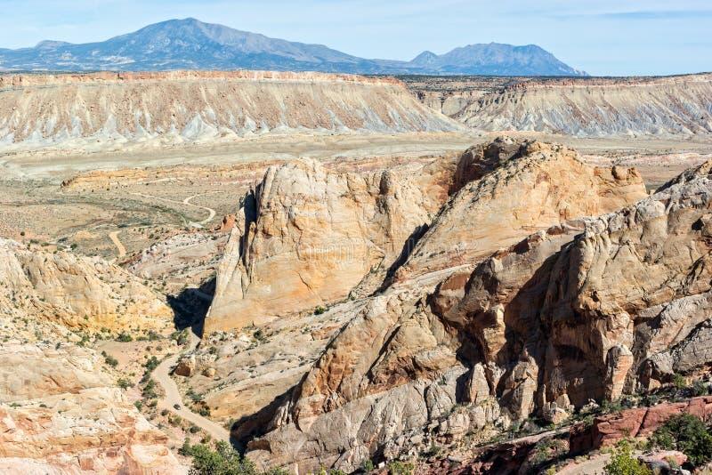 De Vouwen van Waterpocket van Utah royalty-vrije stock afbeeldingen