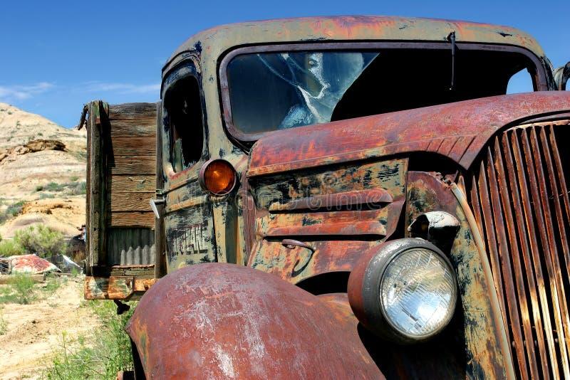 De vrachtwagen van Chevy stock afbeeldingen