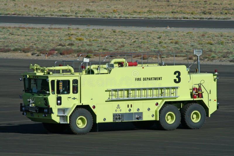 De Vrachtwagen van de Brand van de Haven van de lucht royalty-vrije stock afbeeldingen