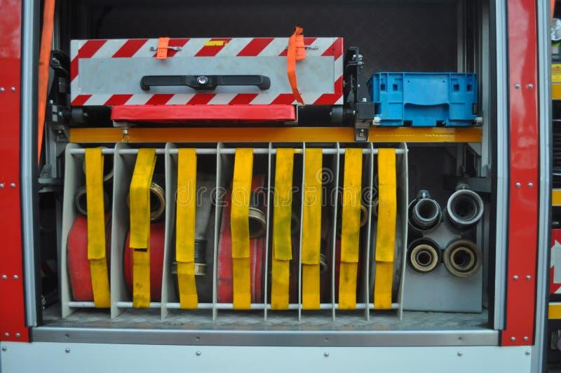 De vrachtwagen van de brandbrigade royalty-vrije stock fotografie