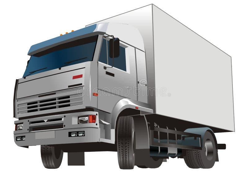 De vrachtwagen van de lading royalty-vrije illustratie