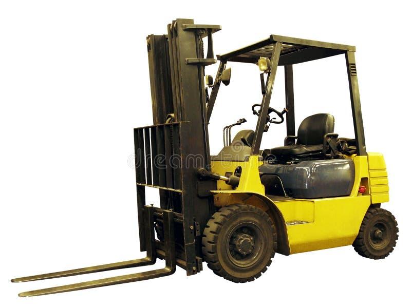 De vrachtwagen van de lift stock afbeelding