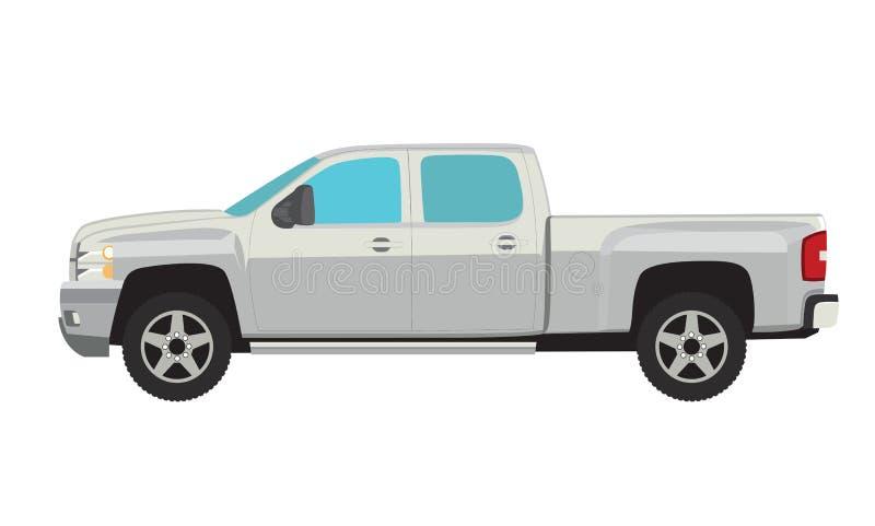 De vrachtwagen van de oogst vector illustratie