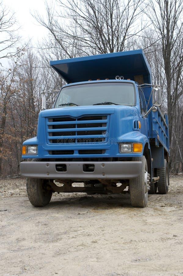 De Vrachtwagen van de stortplaats stock fotografie
