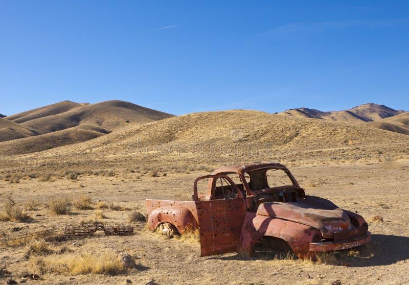 De Vrachtwagen van de woestijn royalty-vrije stock afbeeldingen