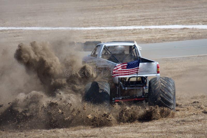 De Vrachtwagen van het monster stock afbeelding