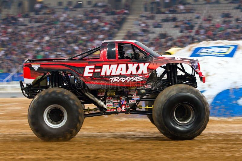 De Vrachtwagen van het Monster e-Maxx royalty-vrije stock foto