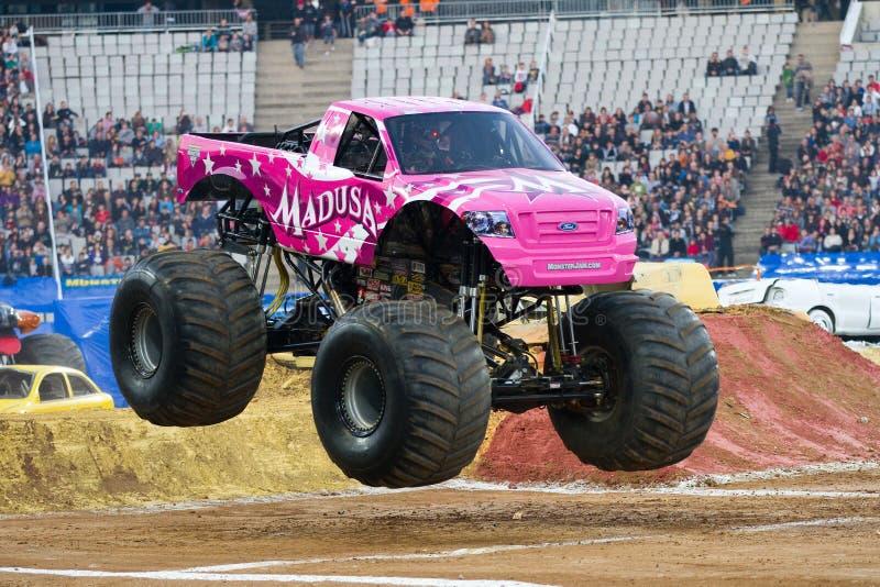De Vrachtwagen van het Monster van Madusa royalty-vrije stock foto's