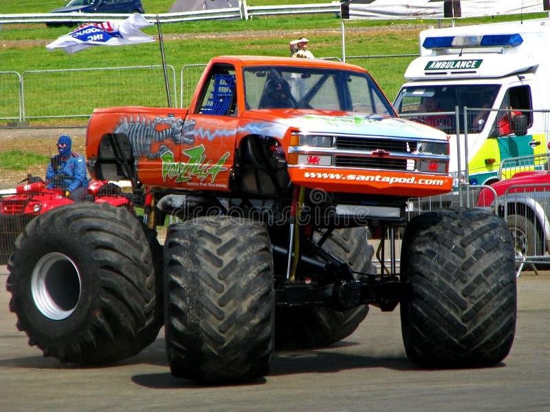 De Vrachtwagen van het Monster van Podzilla stock foto
