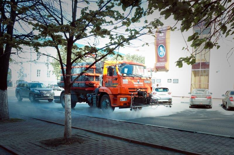 De Vrachtwagen van het water royalty-vrije stock foto's