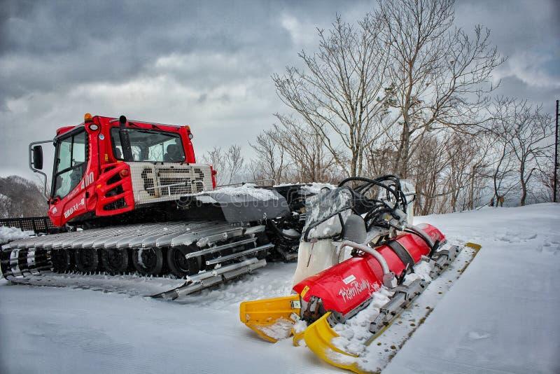 De vrachtwagen van de sneeuwverwijdering royalty-vrije stock foto