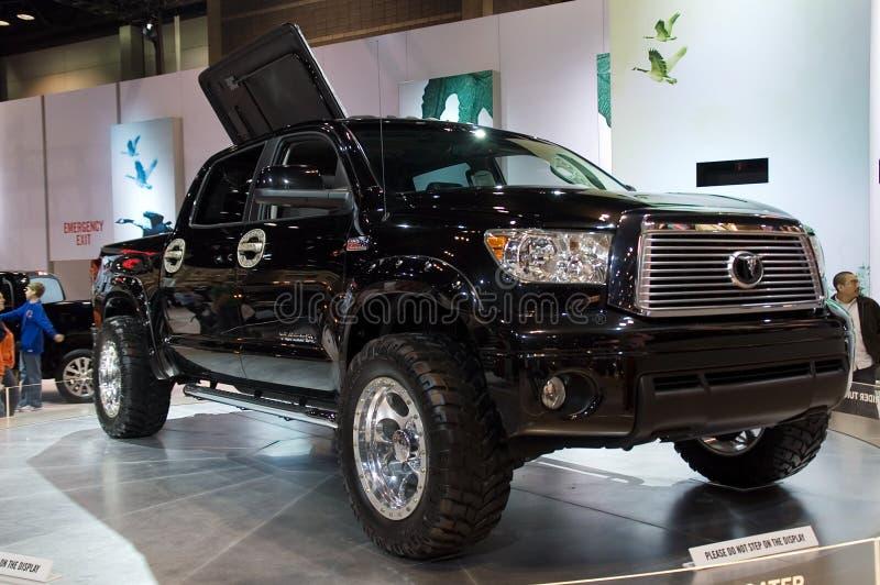 De vrachtwagenmodel 2010 van de Toendra van Toyota royalty-vrije stock foto's