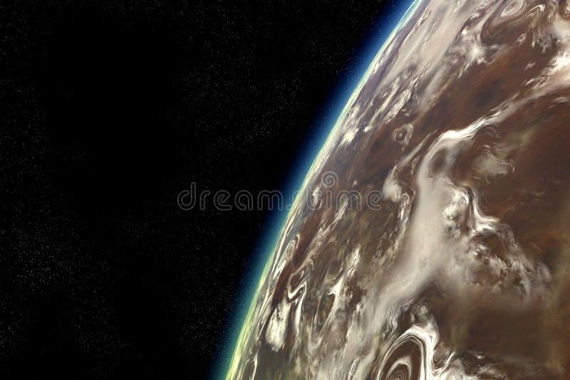 Download De Vreemde Baan Van De Planeet Stock Illustratie - Illustratie bestaande uit astrologie, fictie: 27468