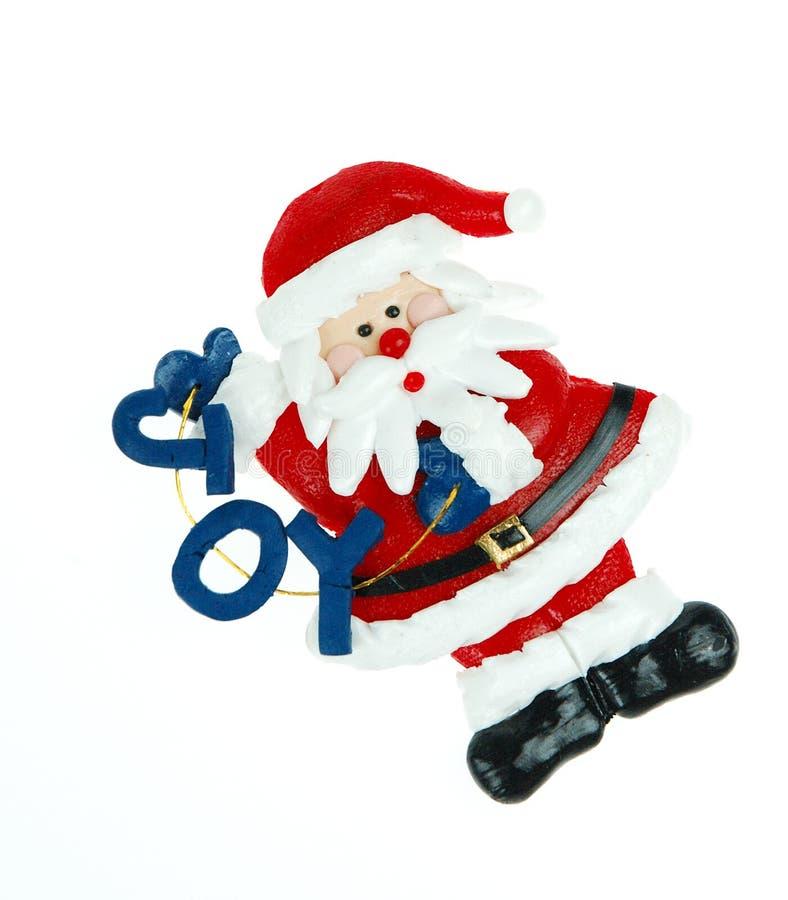 De Vreugde Van De Kerstman Stock Fotografie