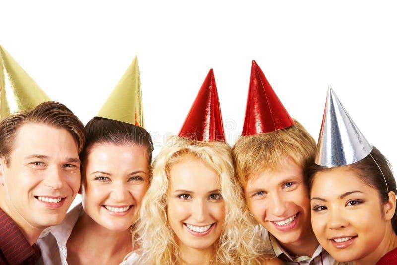 De vreugde van de verjaardag stock fotografie