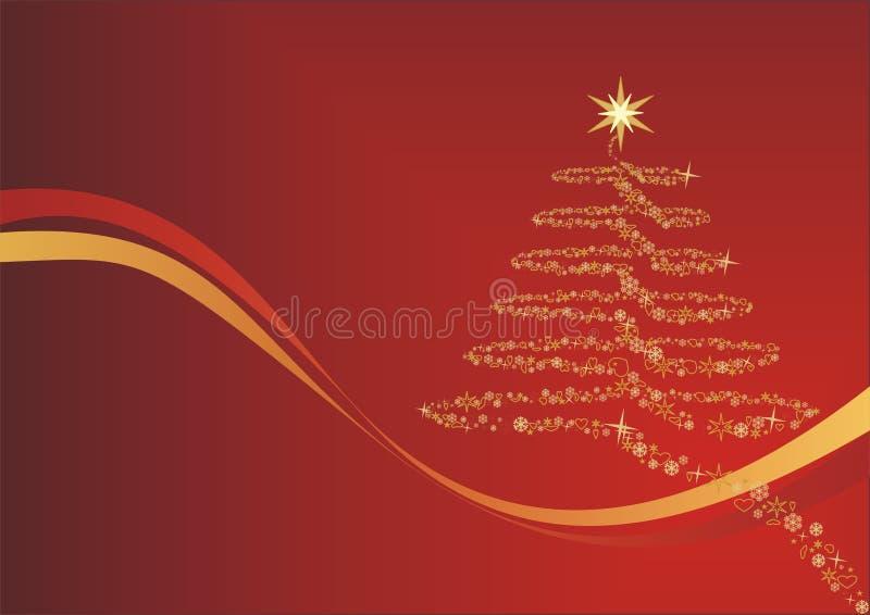 De vreugde van Kerstmis vector illustratie
