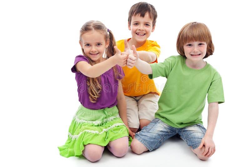 De vrienden van kinderjaren stock fotografie