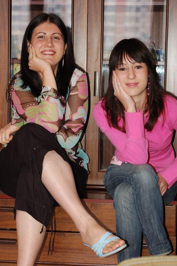 De vrienden van vrouwen stock foto