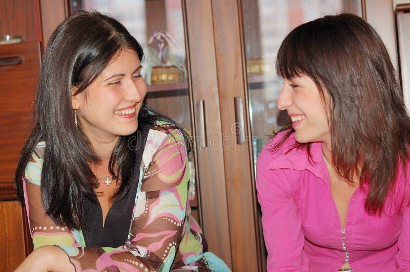 De vrienden van vrouwen stock afbeeldingen