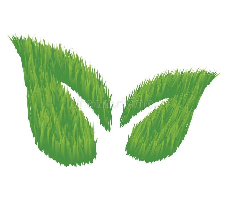 De Vriendschappelijke Bladeren van Eco royalty-vrije stock afbeelding