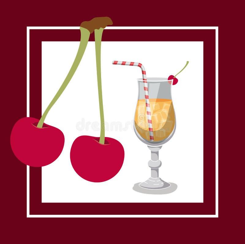 De vrije dranken etiketteren morgen vector illustratie
