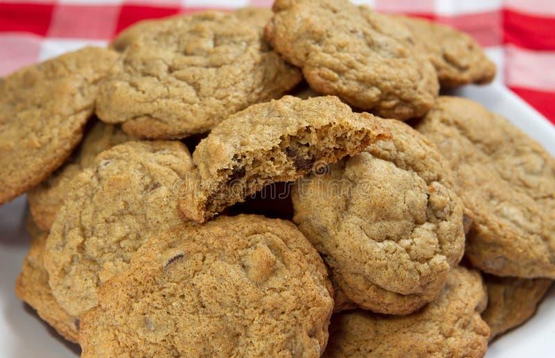 De vrije koekjes van het gluten stock foto's