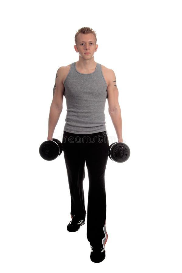 De vrije Training van het Gewicht stock fotografie