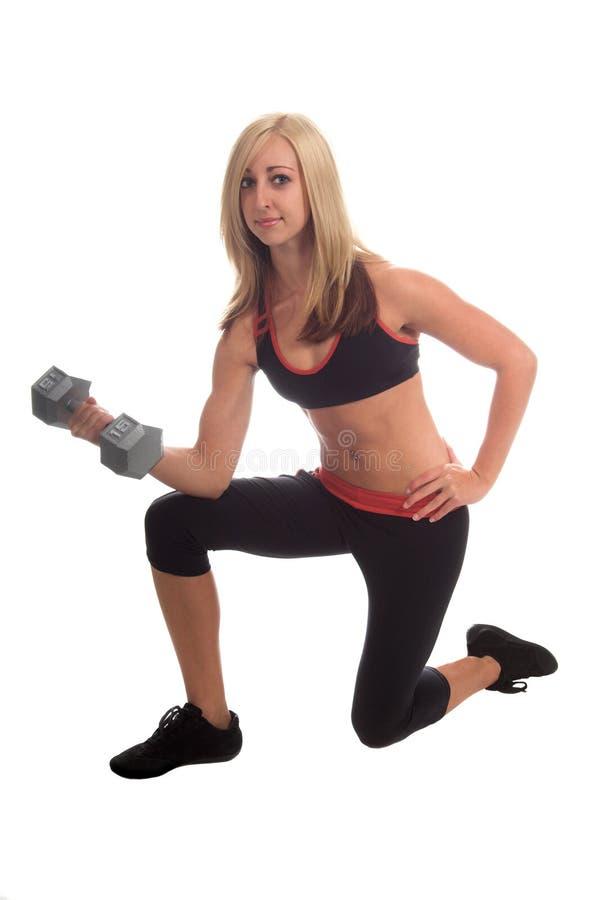De vrije Training van het Gewicht royalty-vrije stock foto's
