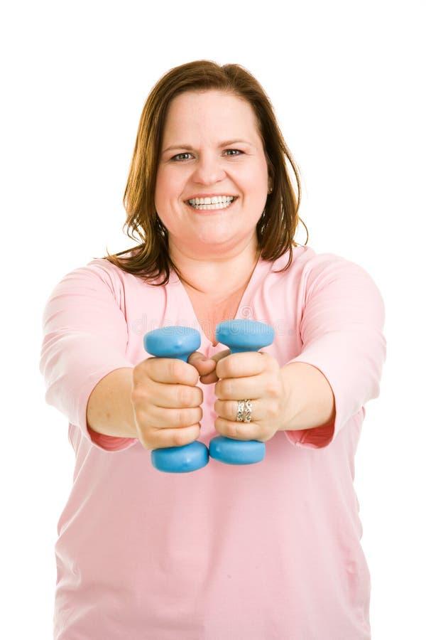 De vrije Training van het Gewicht stock foto
