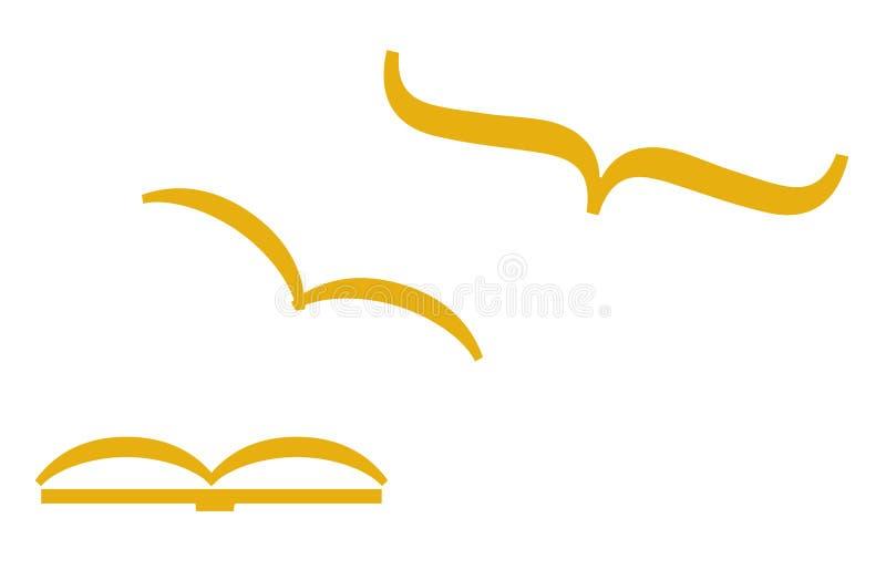 De vrijheid van het onderwijs (vector) royalty-vrije illustratie
