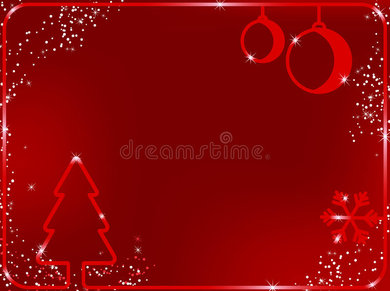 De vrolijke Achtergrond van Kerstmis stock illustratie