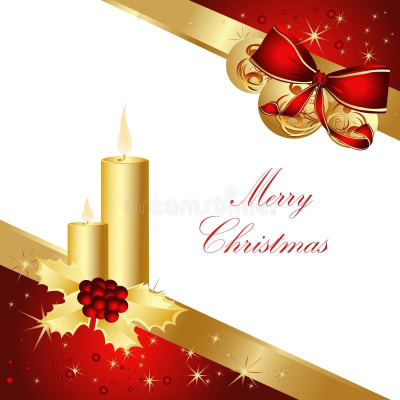 De vrolijke achtergrond van Kerstmis vector illustratie