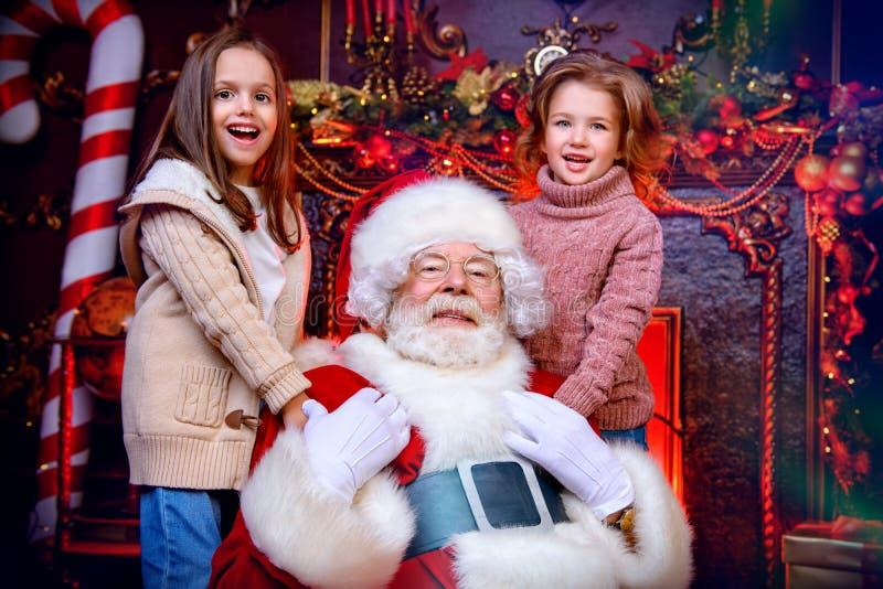De vrolijke tijd van Kerstmis stock afbeelding