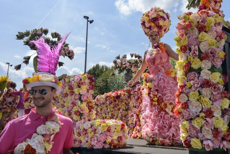 De Vrolijke Trots 2014 van Antwerpen royalty-vrije stock fotografie