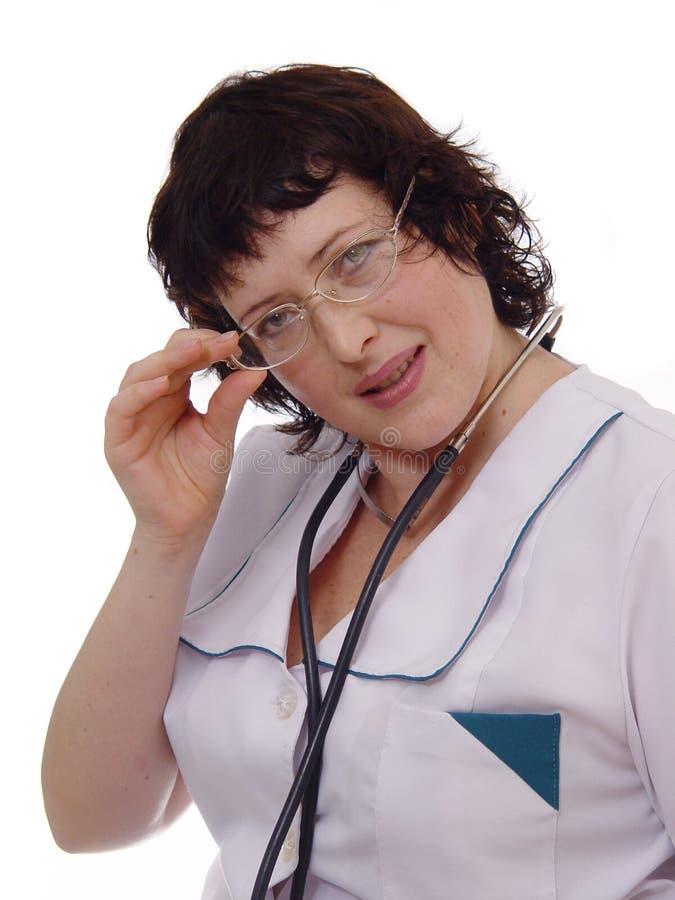 De vrouw van de arts royalty-vrije stock afbeelding