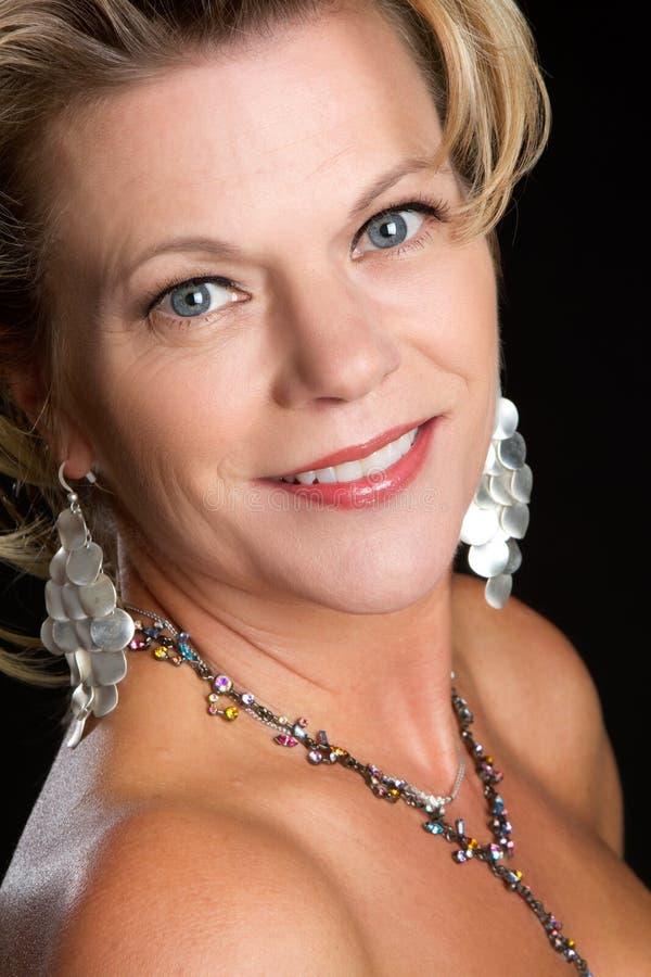 De Vrouw van de glamour royalty-vrije stock afbeeldingen