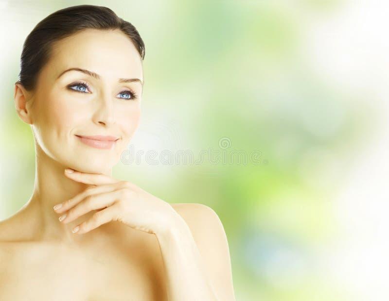 De Vrouw van de lente royalty-vrije stock fotografie