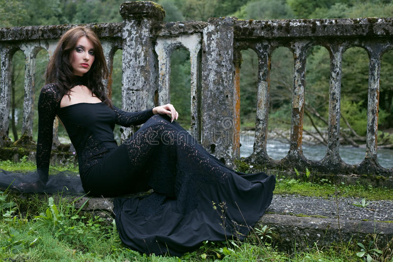 De vrouw van de schoonheid royalty-vrije stock afbeelding