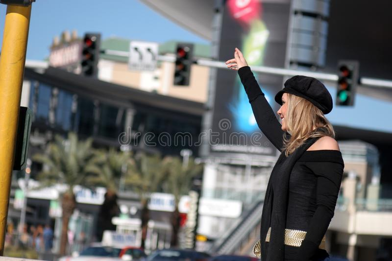 Stadsvrouw stock fotografie