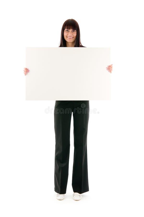 De vrouw van de verkoop royalty-vrije stock afbeeldingen