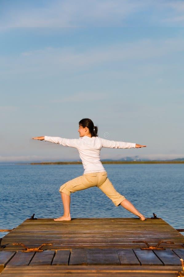 Yogavrouw Gratis Stock Afbeeldingen